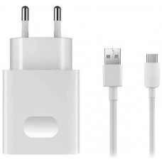 Charger + Data Cable Huawei AP32 QuickCharge 18W USB-C 1m White