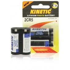 Batteri Special Lithium 245 (2CR5) 6V Kinetec