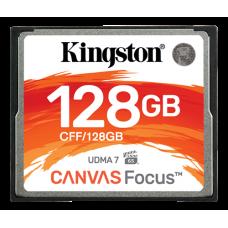 Minneskort CompactFlash Kingston Canvas Focus 150MB/s 128GB