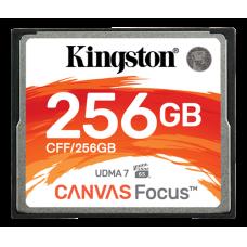 Minneskort CompactFlash Kingston Canvas Focus 150MB/s 256GB