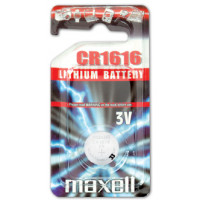 Batteri Knappcell Lithium CR1616 3V Maxell