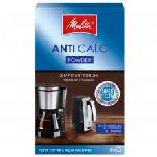 Avkalkningspulver till Kaffebryggare Melitta Caffeo 6-pack