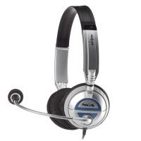 Headset On-Ear NGS MSX6 Pro USB Silver
