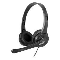 Headset On-Ear NGS Vox 505 USB Black