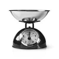 Köksvåg Analog 5kg Nedis KASC110BK