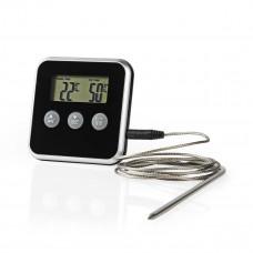 Stektermometer Digital 0-250°C Nedis KATH105BK