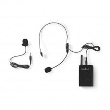Trådlöst Mikrofonsystem Nedis MPWL631BK