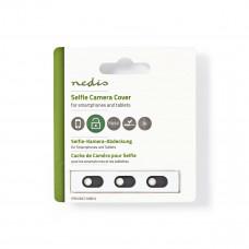 Webbkameraskydd Smartphone Nedis PRIVWCC10BK3 3-pack