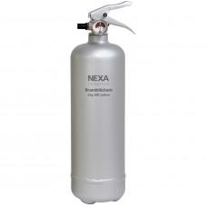 Brandsläckare Nexa Design Line Silver 2kg 13A