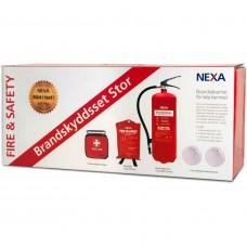 Brandskyddsset Nexa Stor Röd