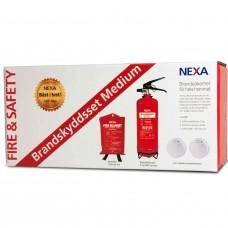 Brandskyddsset Nexa Medium Röd