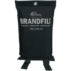 Brandfilt Nexa Design Line Svart