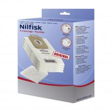 Dammsugarpåsar Nilfisk Select Power 128389187 4-pack