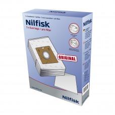 Dammsugarpåsar Nilfisk Bravo Action 30050002 5-pack