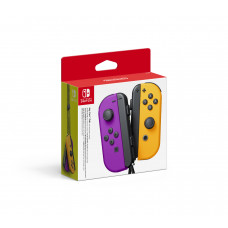Nintendo Switch Joy-Con (Pair) Neon Purple, Neon Orange