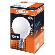 Ugnslampa Klot E14 240V 40W Osram Special Oven P 4050300008486