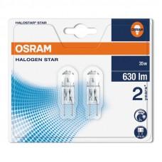 Halogenlampa 12V GY6.35 35W Osram Halostar 64432 4008321201874 2-pack