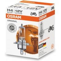 Halogenlampa 12V Bil P43t H4 55W Osram