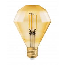 LED 1906 Vintage diamond 40W/825 filament gold E27