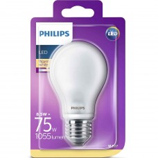 LED-lampa Frost Normal E27 8,5W (75W) Philips