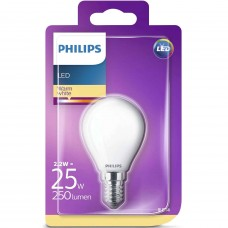 LED-lampa Frost Klot E14 2,2W (25W) Philips
