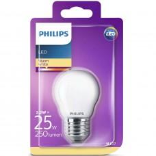 LED-lampa Frost Klot E27 2,2W (25W) Philips