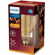 LED-lampa Flame Vintage Glob 160mm 5W (25W) Philips