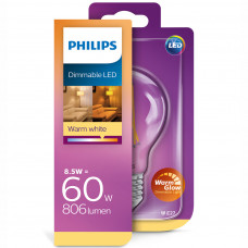LED-lampa Filament Normal E27 8,5W (60W) Dimbar Philips