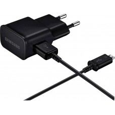 Charger + Data Cable Samsung EP-TA12E 10W MicroUSB 1m Black