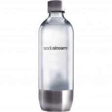 SodaStream PET-Flaska 1 liter Metall