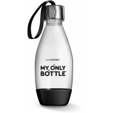Flaska Sodastream Diskmaskinsäker 0,5L My Only Bottle Black
