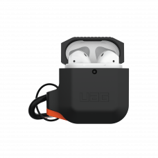Airpodsskal UAG Apple Airpods Silicone Case, Black/Orange