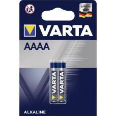 Batteri Alkaliskt AAAA (LR8D425) 1,5V Varta 2-pack