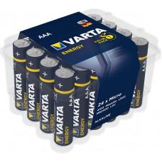 Batteri Alkaliskt AAA (LR03) 1,5V Varta Energy 24-pack
