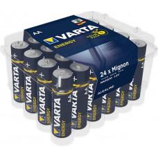 Batteri Alkaliskt AA (LR06) 1,5V Varta Energy 24-pack