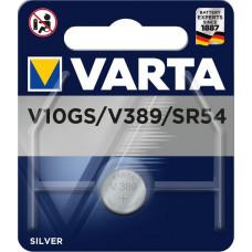 Batteri Silveroxid 389 SR54 (SR1131) 1,55V Varta V10GS