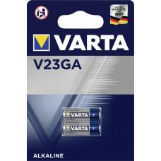 Batteri Alkaliskt A23 (8LR932) 12V Varta V23GA 2-pack