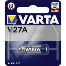 Batteri Alkaliskt A27 (8LR732) 12V Varta V27A