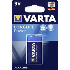 Batteri Alkaliskt E (6LR61) 9V Varta Power