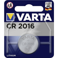 Batteri Litium CR2016 3V Varta