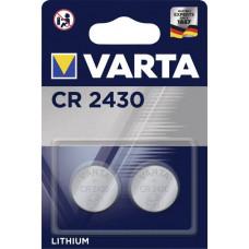 Batteri Litium CR2430 3V Varta 2-pack