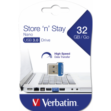 USB-Minne Verbatim Store 'n' Stay NANO 32GB USB 3.0