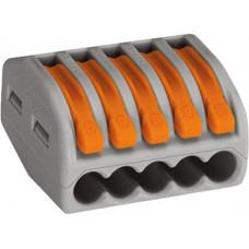 Kopplingsklämma 5-polig Wago 222-415
