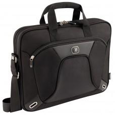"""Wenger Administrator 15"""" (för MacBook Pro + iPad ficka) svart"""